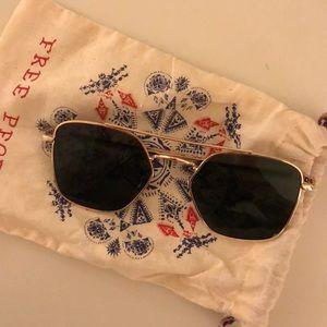Free People Aviator Sunglasses